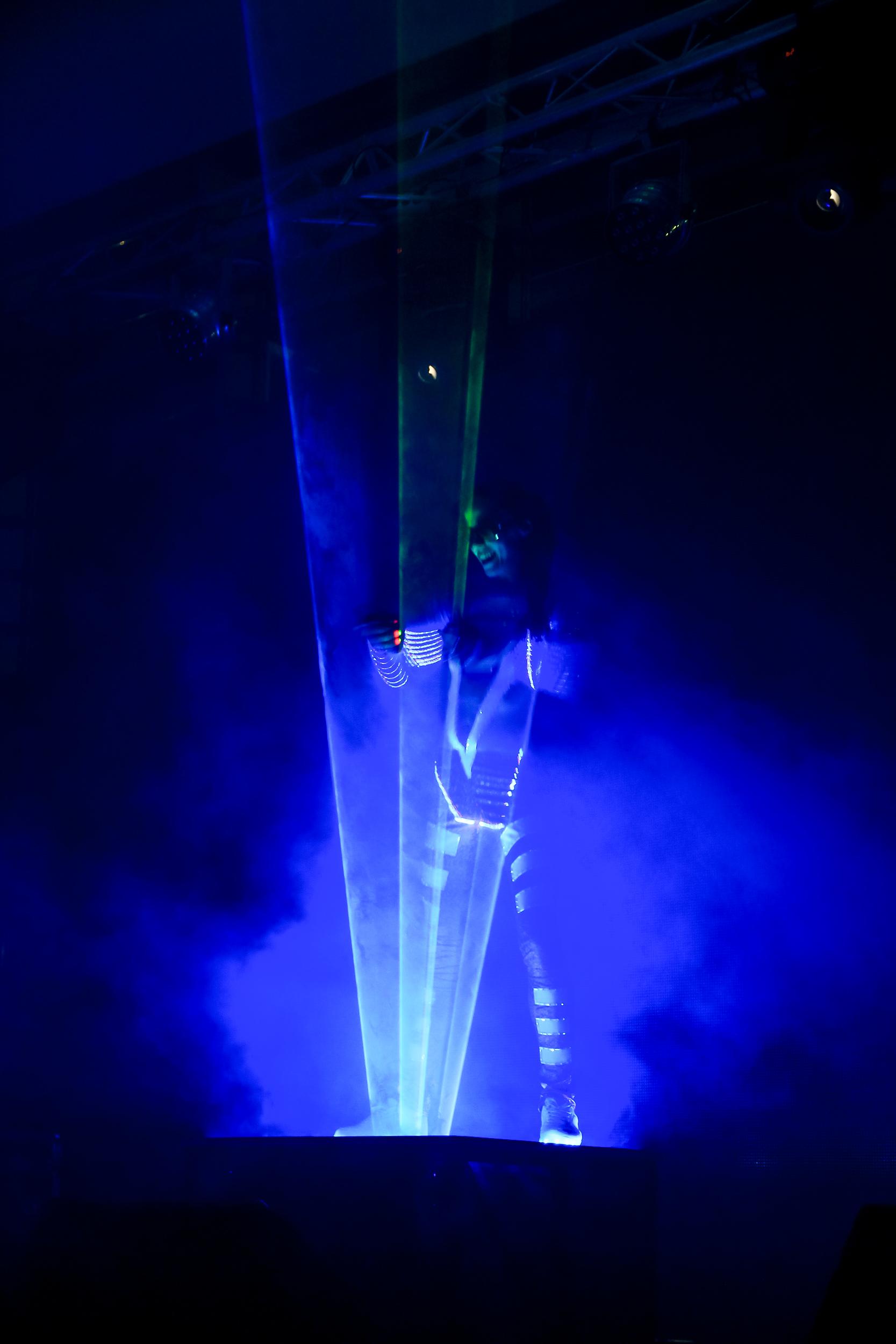 Презентация BMW в Николаеве Лазерное Шоу