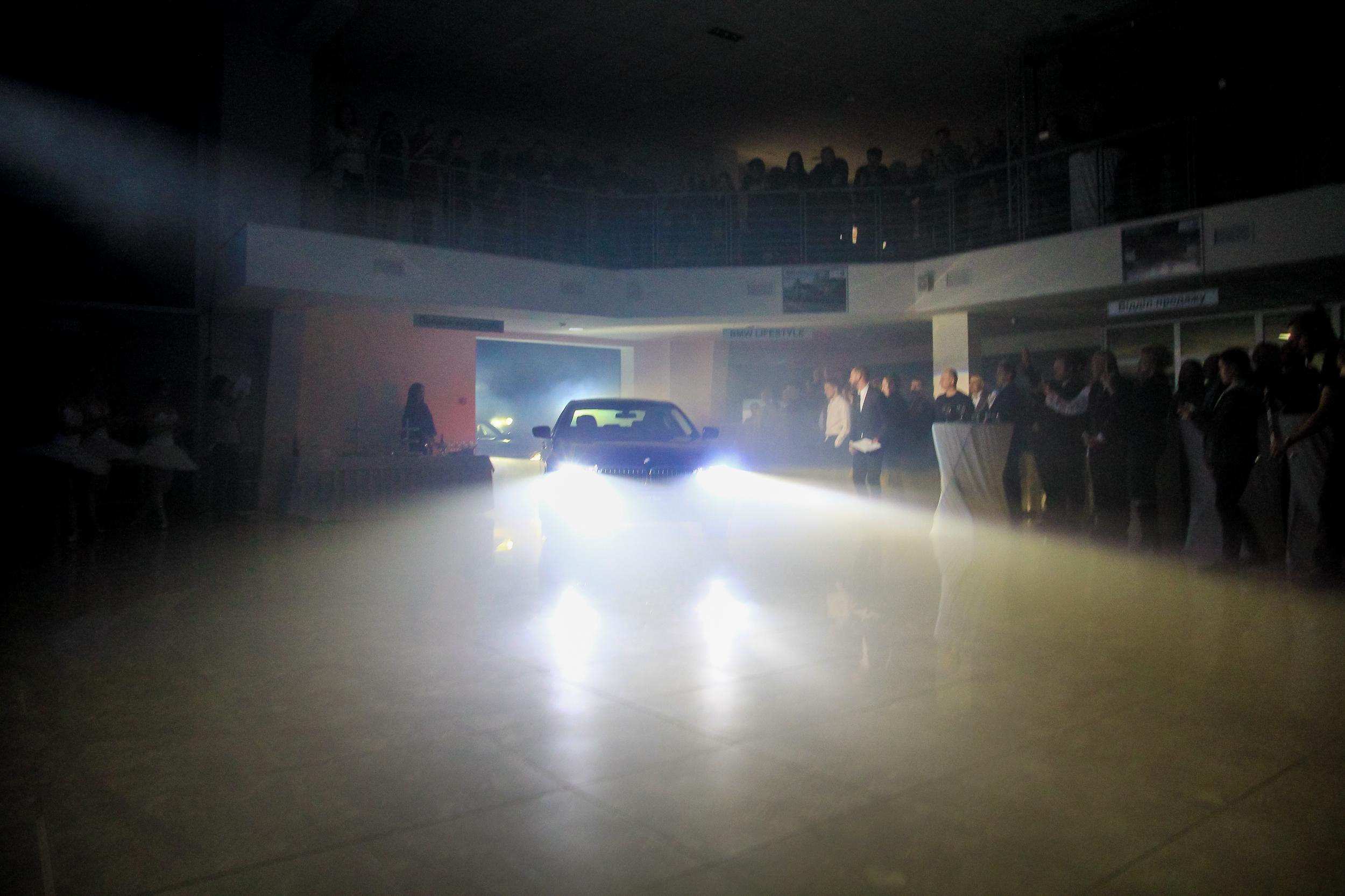Торжественная презентация автомобиля BMW 5-Серии Николаев