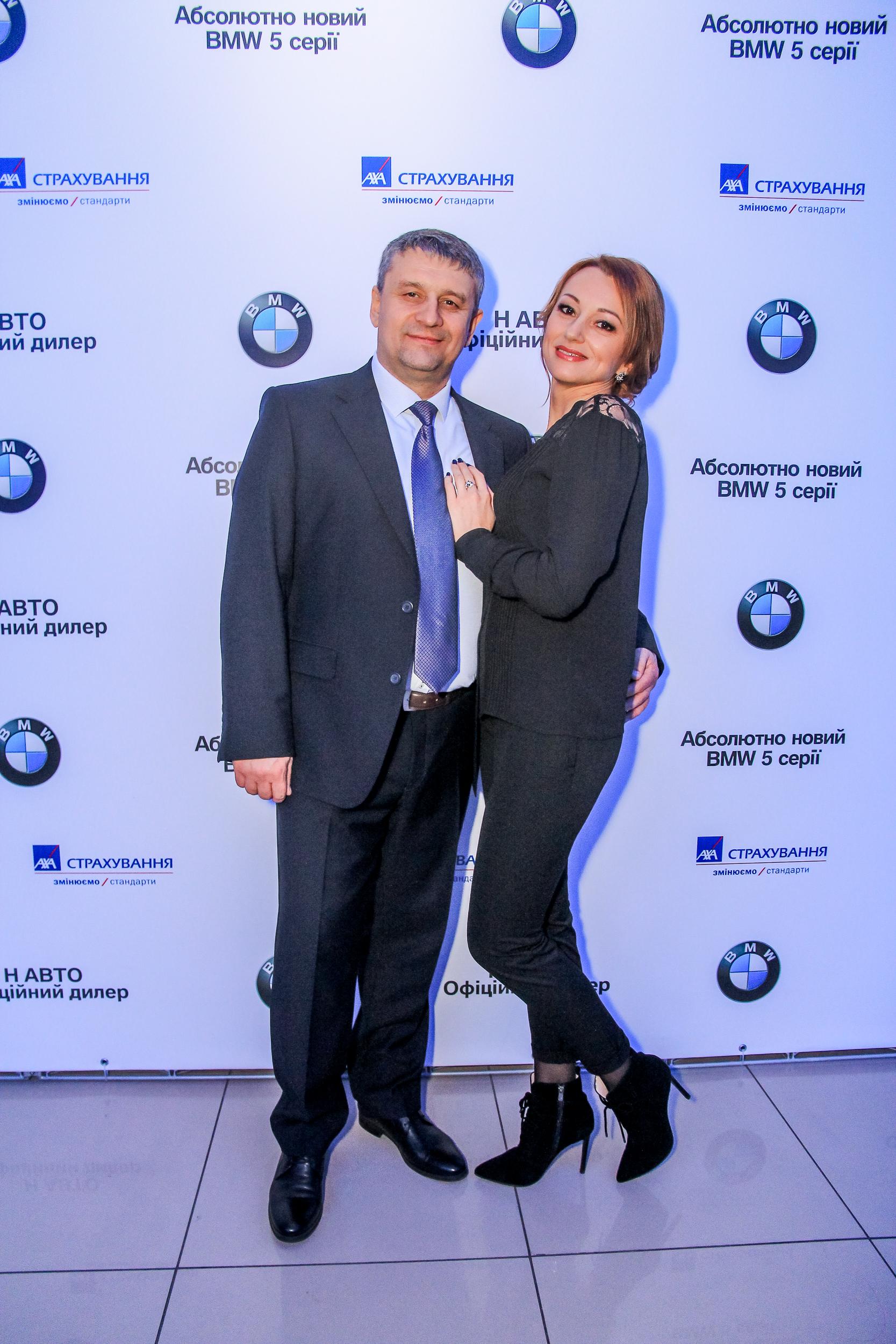 Фото гостей презентации BMW 5-Серии Бихеппи Николаев
