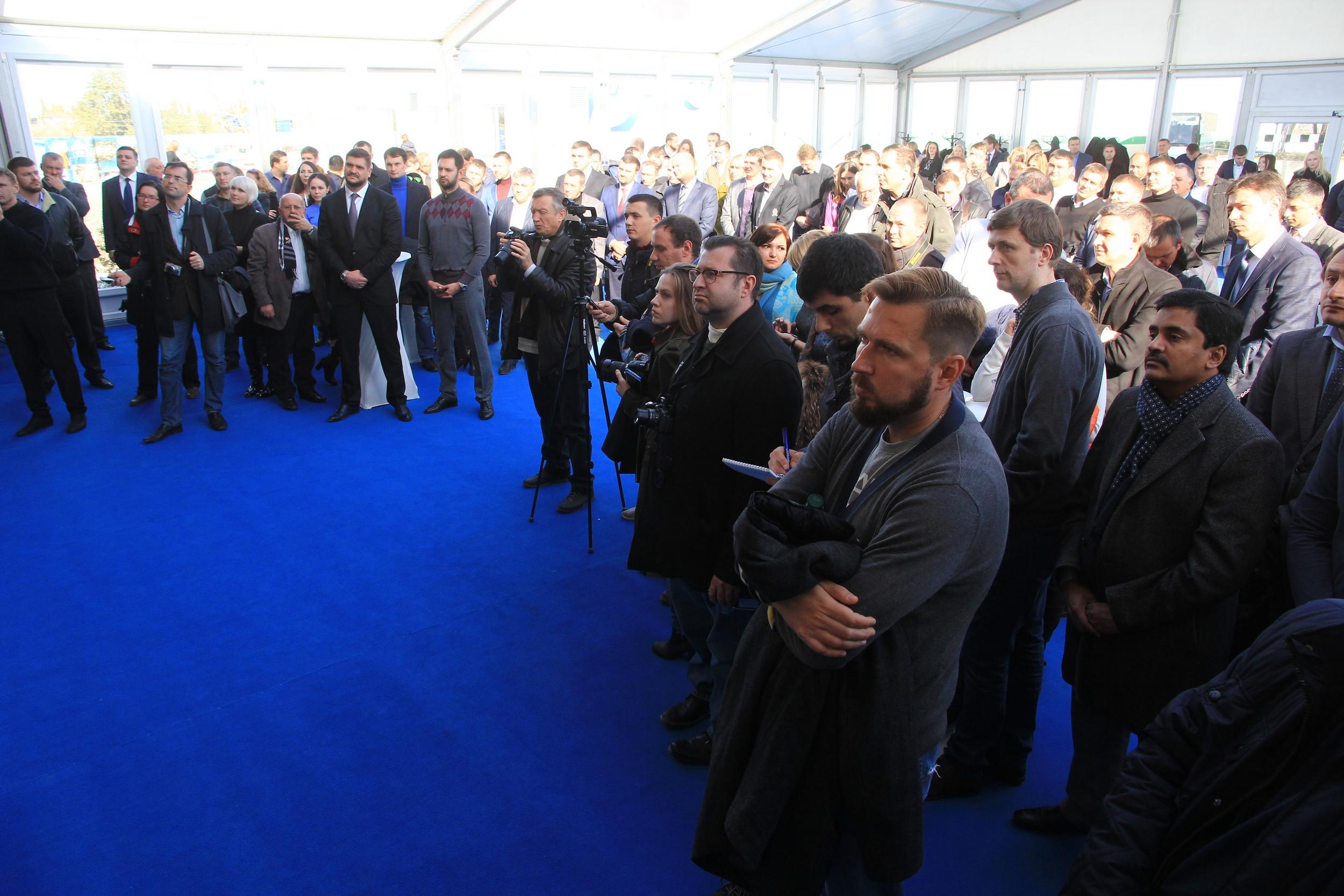 Пресс-конференция официального открытия терминалов UPSS Николаев