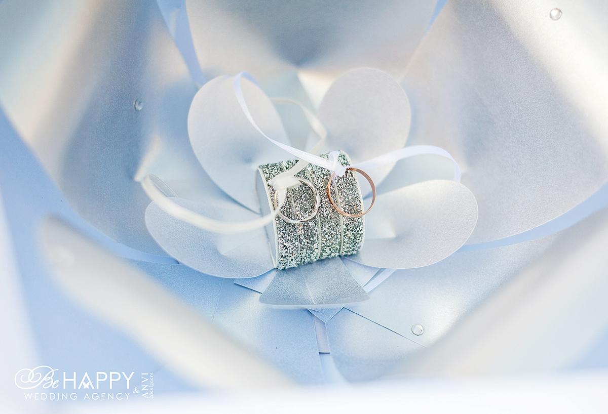 Подушечка для колец в виде орхидеи Би Хеппи Николаев
