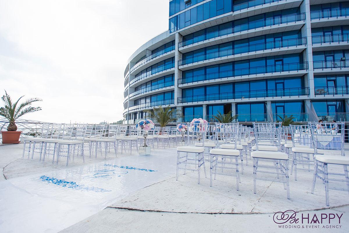 Места для гостей выездная свадебная церемония под ключ