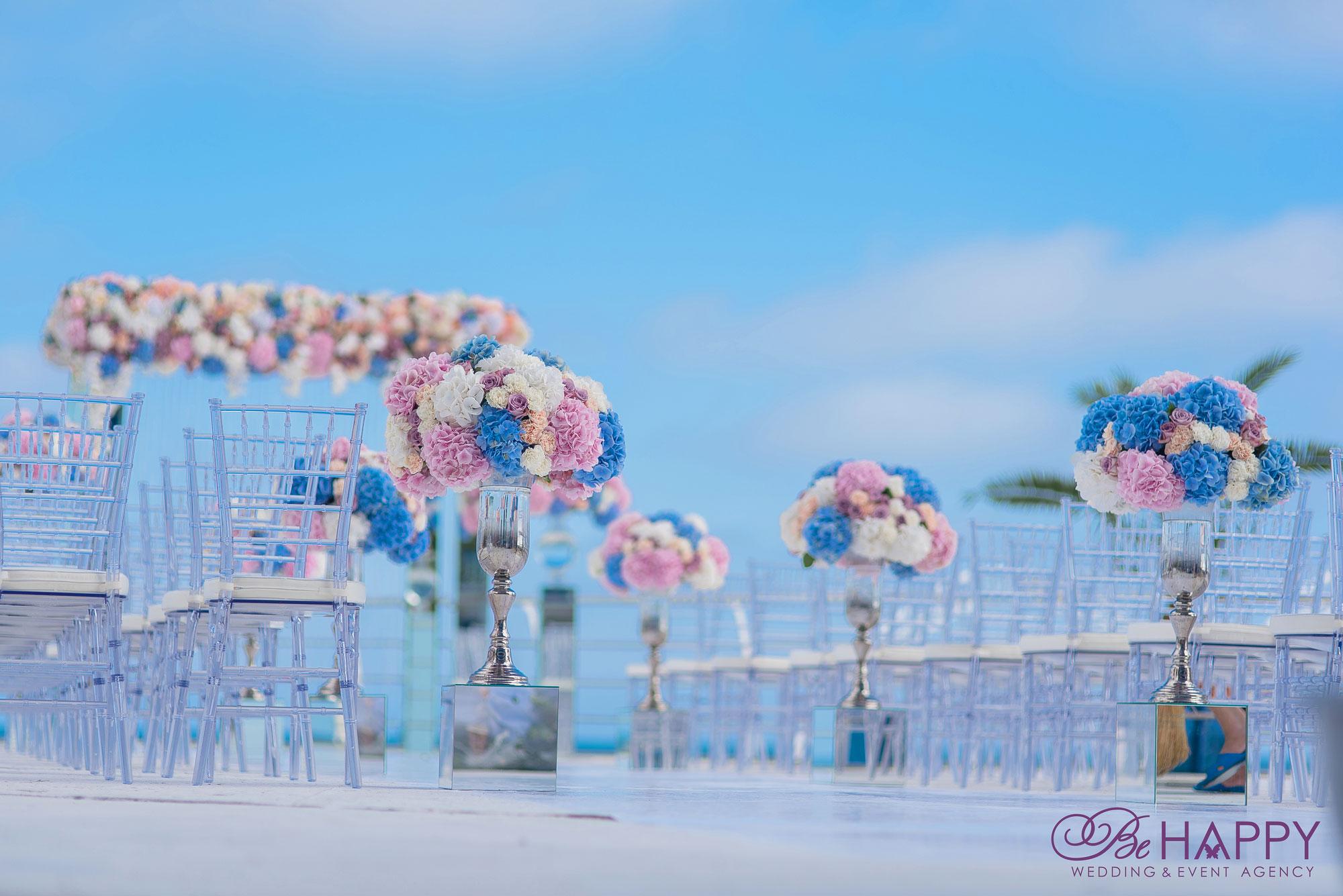 Роскошный свадебный декор Би Хеппи Николаев