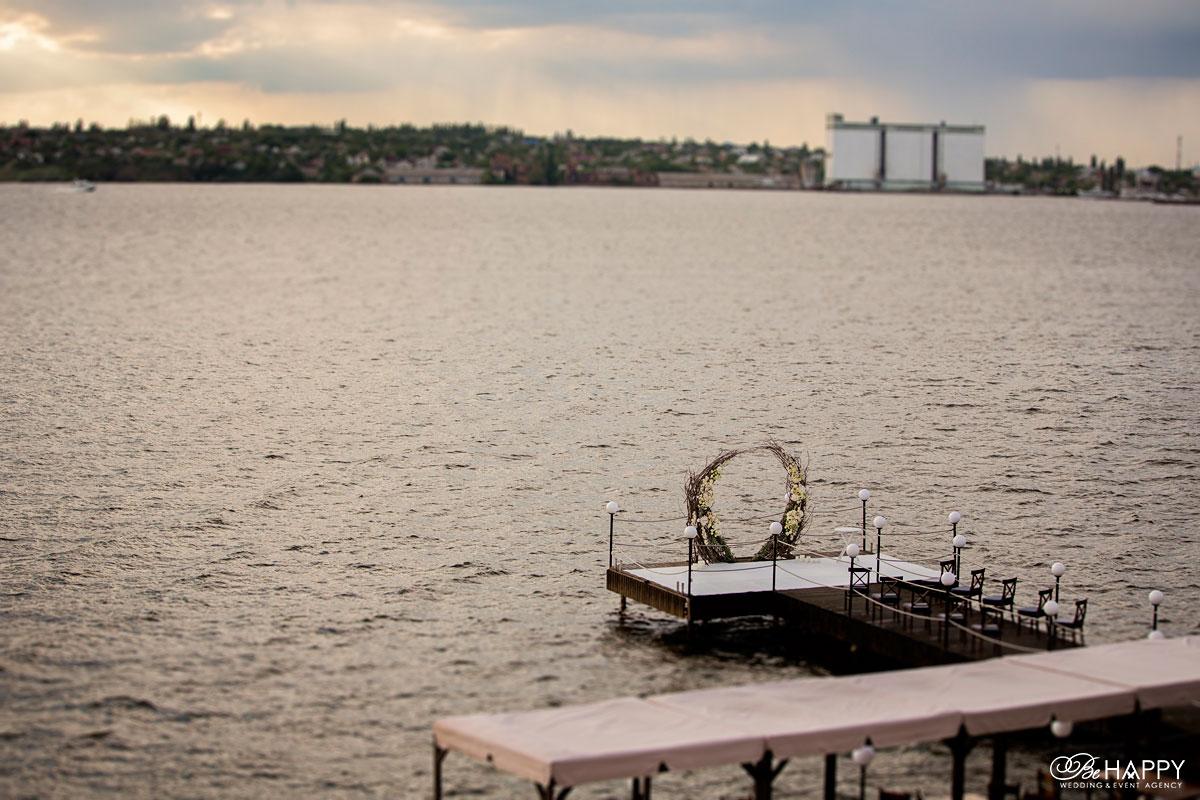 Ресторан Старгород свадебная церемония арка Николаев
