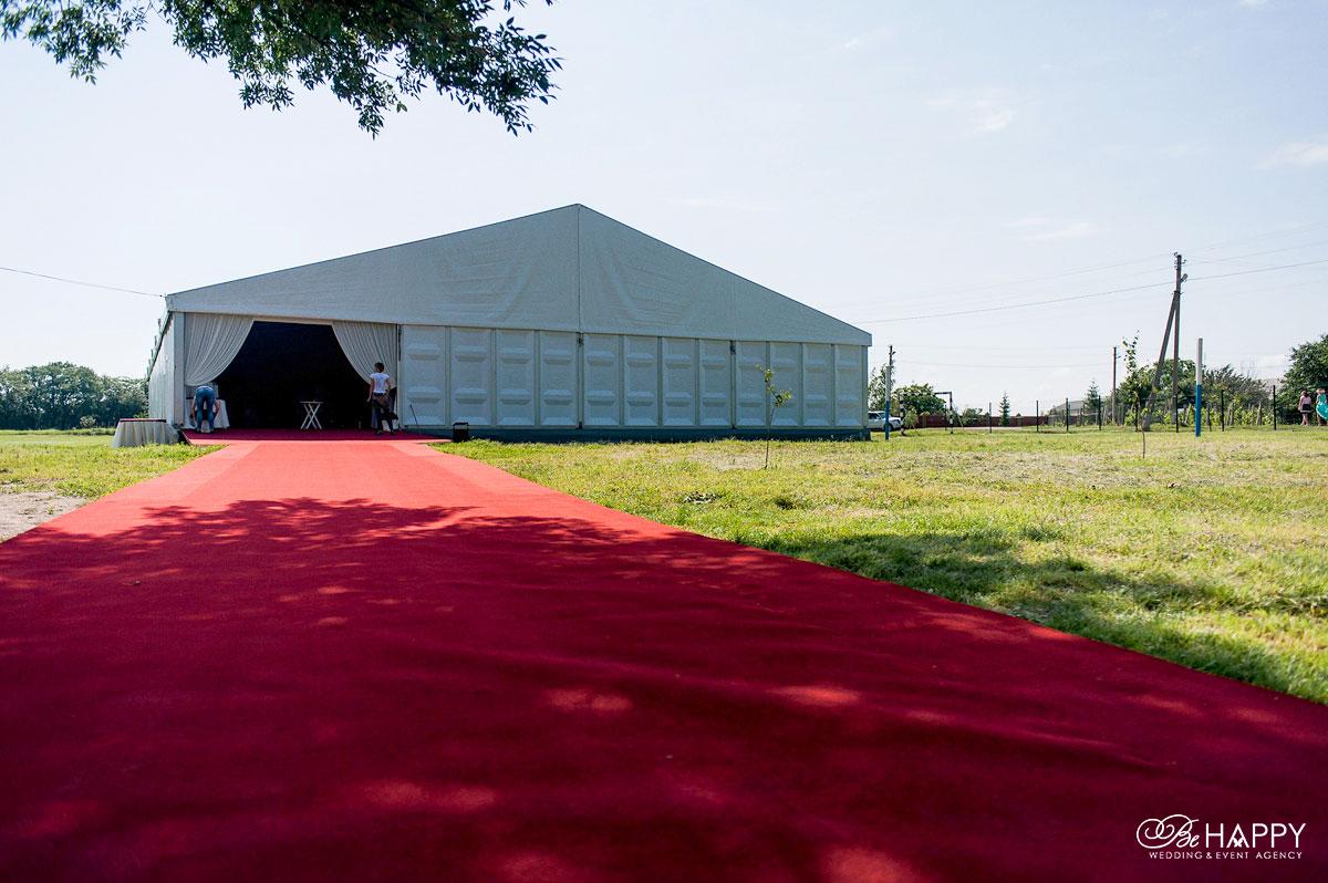 Шатер для проведения свадебного банкета выездная церемония Николаев