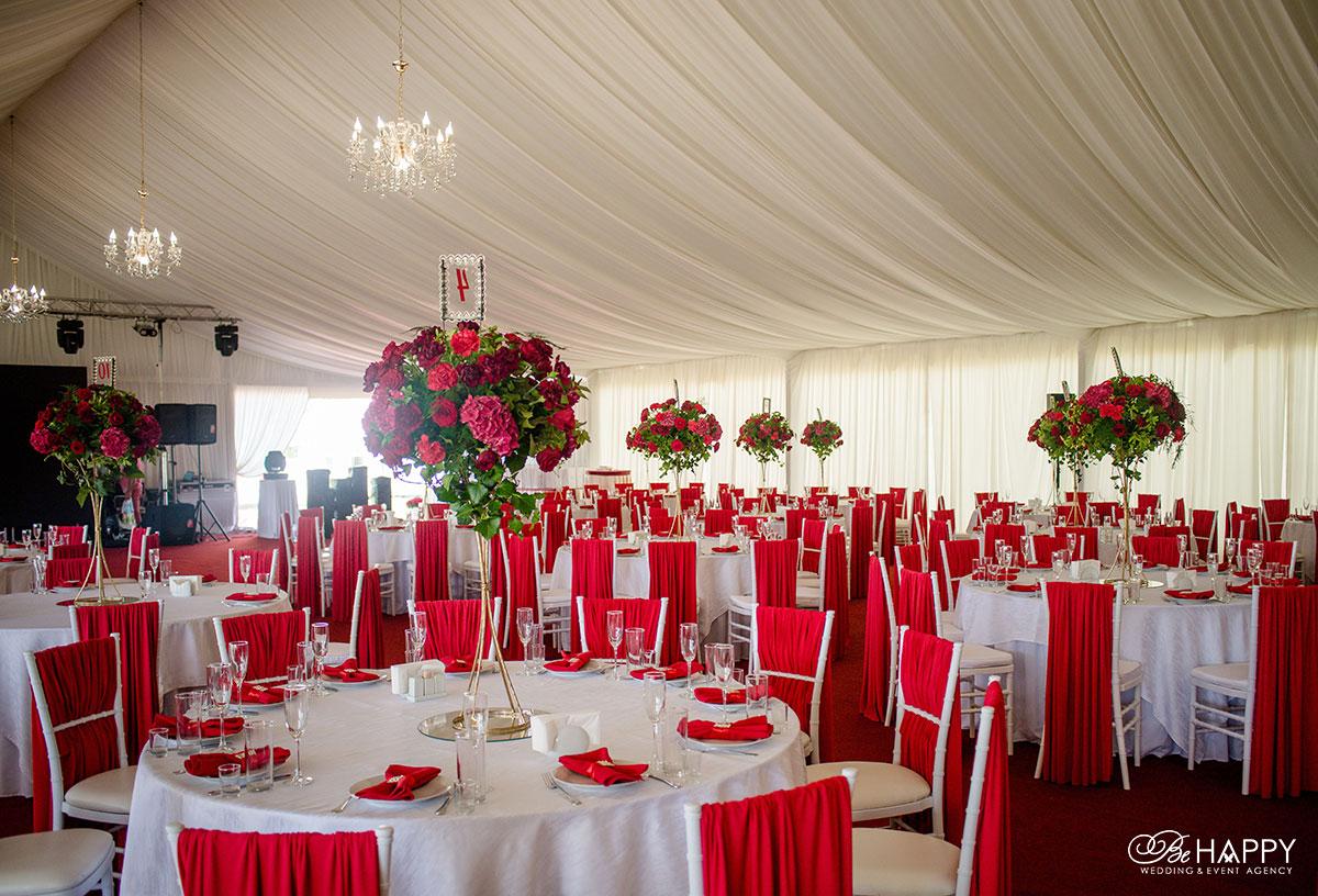 Декоративное оформление банкетного зала Свадьба Николаев