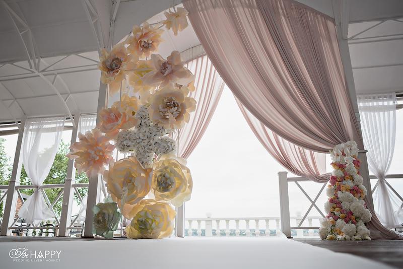 Свадебная флористика и свадебный декор Би Хеппи Николаев