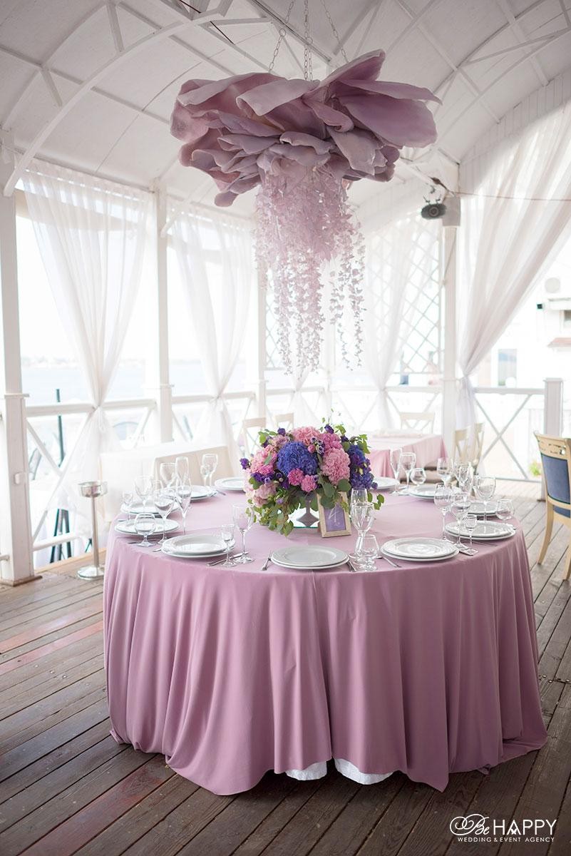 Украшение и сервировка столов для гостей би хеппи Николаев