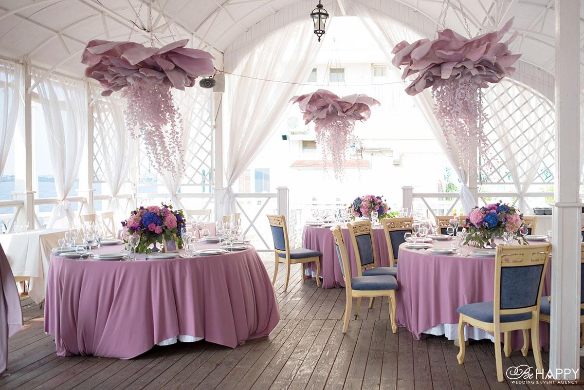 Декоративное оформление банкетного зала ресторан Старгород Николаев