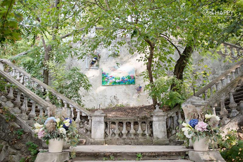 Выездная свадебная церемония декоративное оформление Николаев