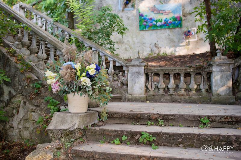 Место проведения выездной свадебной церемонии старинная усадьба