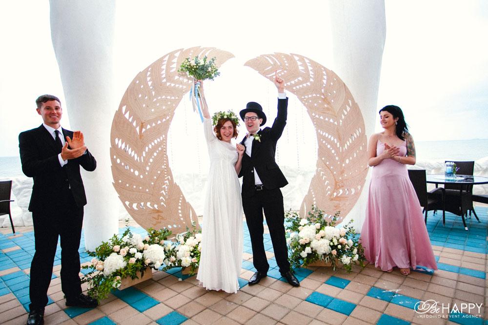 Свадьба Никиты Худякова и Евгении выездная церемония Николаев