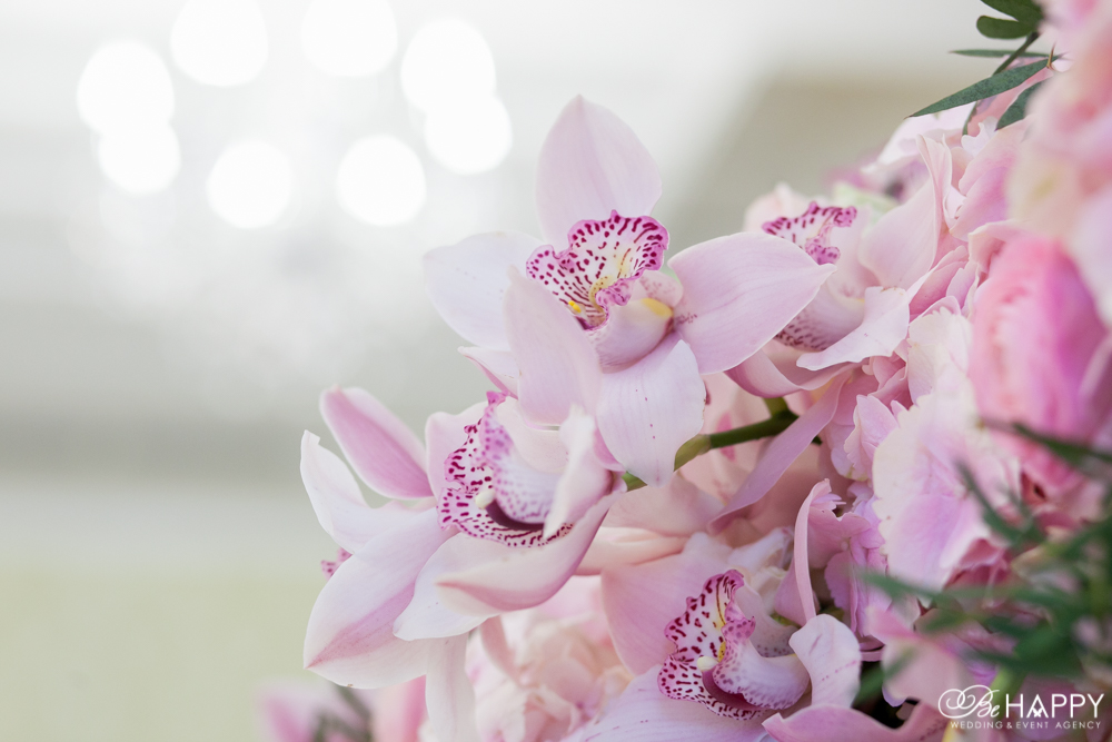 Свадебная флористика живые орхидеи фото Би Хеппи Николаев