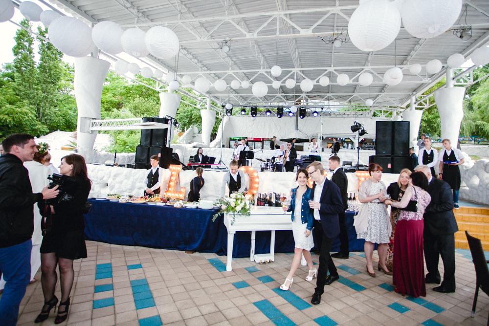 Выездная свадебная церемония кейтеринг Николаев