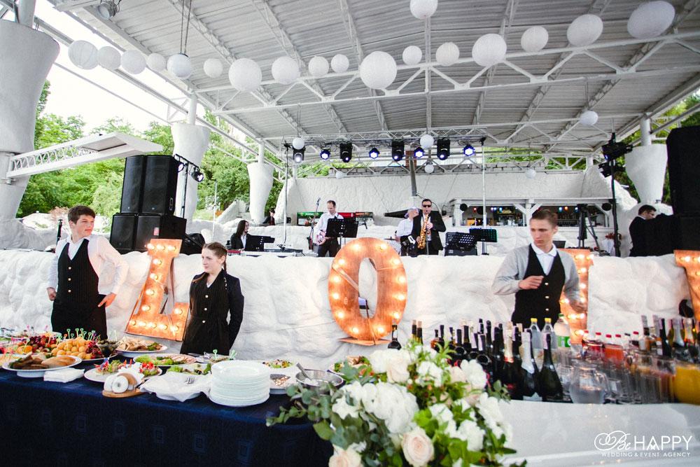 Джаз бенд на выездной свадебной церемонии Николаев