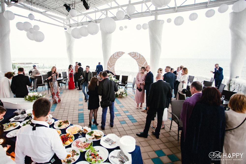 Выездная свадебная церемония фуршет Балдино Николаев