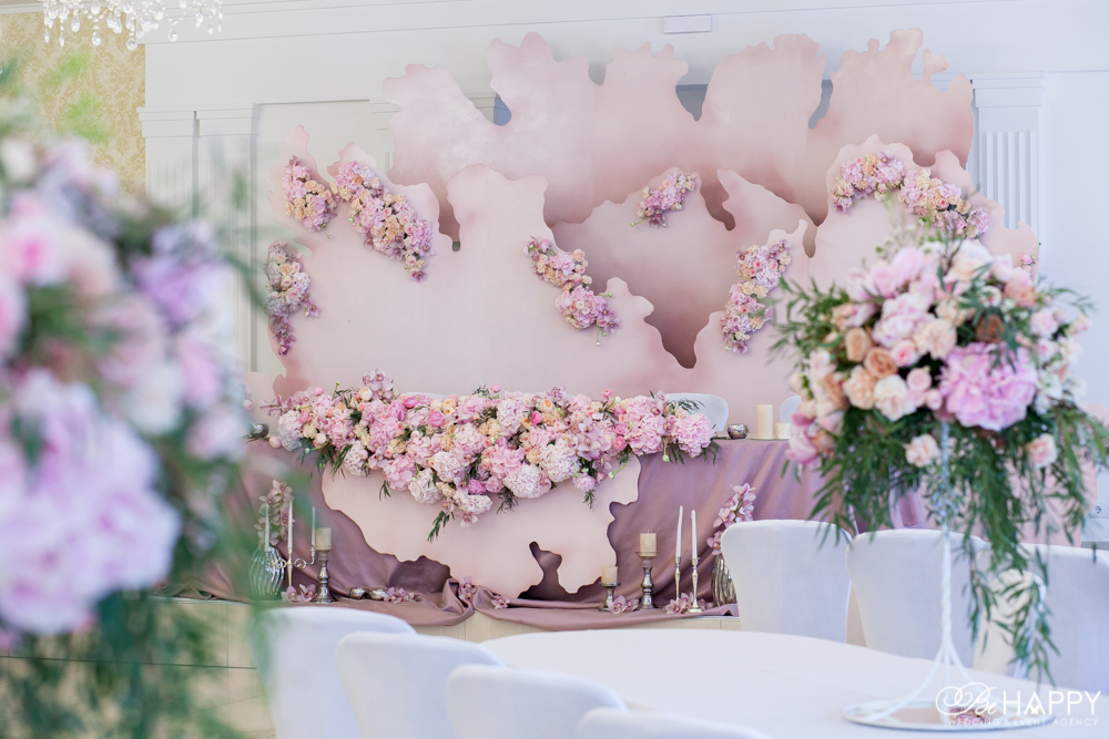 Свадебная флористика декоративное оформление свадеб Би Хеппи