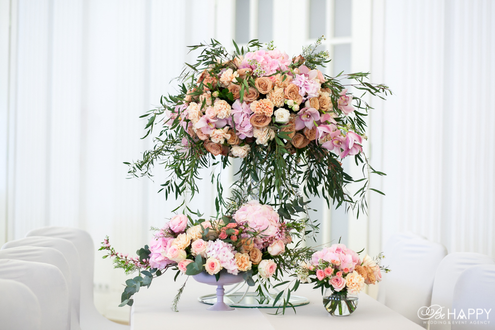 Be happy wedding agency floral decoration