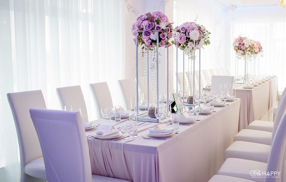 Свадьба под ключ украшение банкетного стола Би Хеппи Николаев