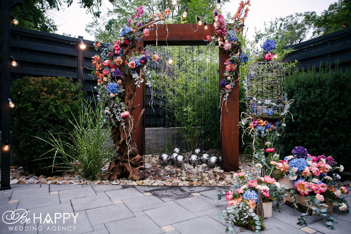 Украшение свадебной арки свадьба под ключ Бихеппи