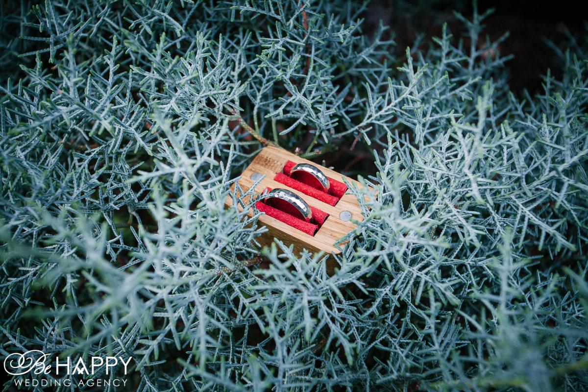 Деревянная коробочка для обручальных колец свадьба Николаев