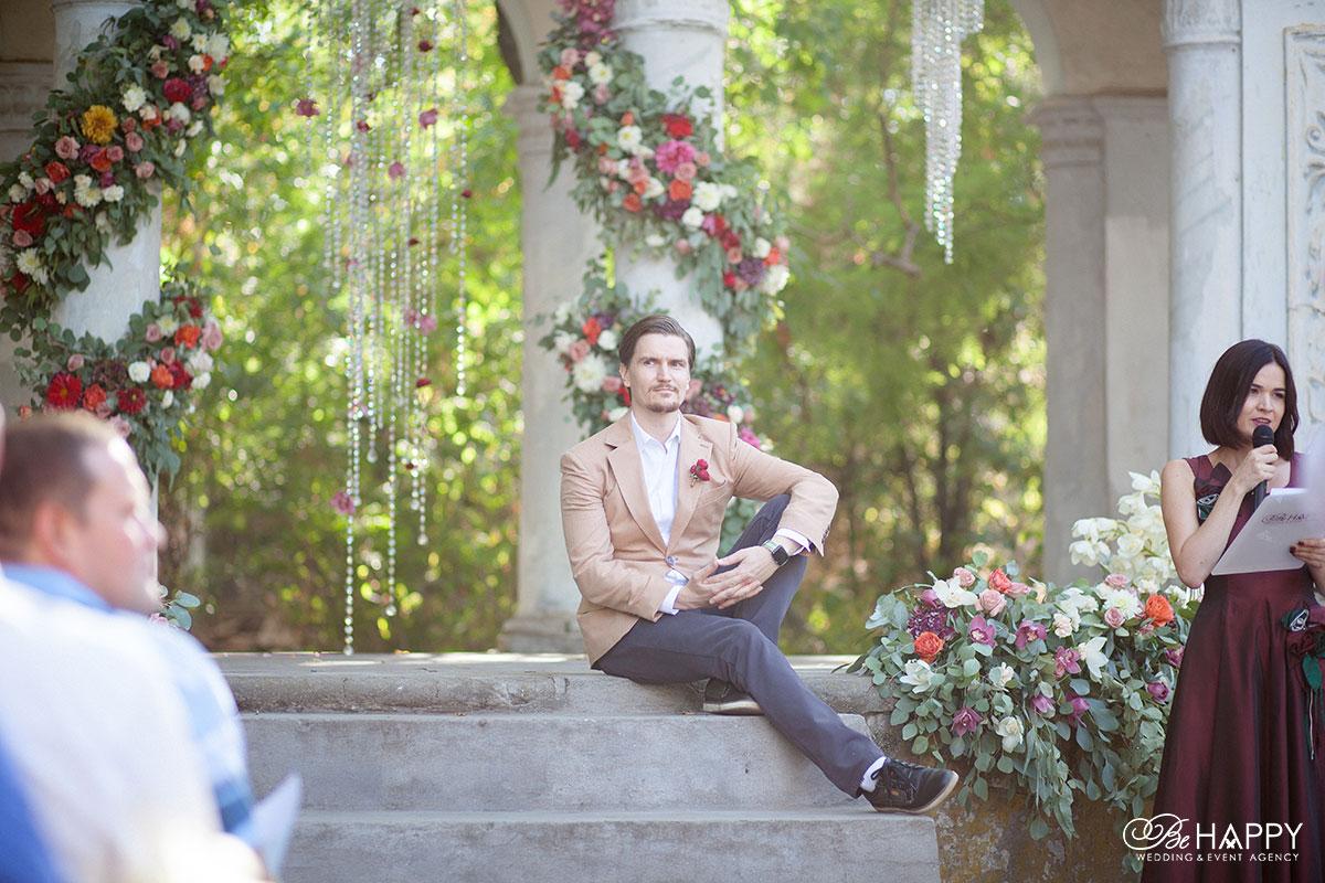 Фото жениха свадебная фотосессия Би Хеппи Николаев