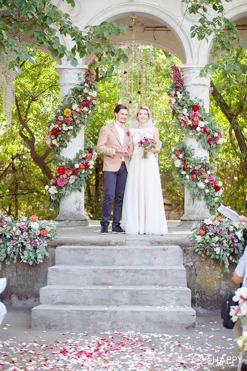 Свадебная фотосессия фото молодоженов свадьба Николаев