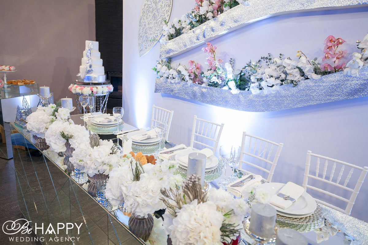 Be happy wedding agency decoration
