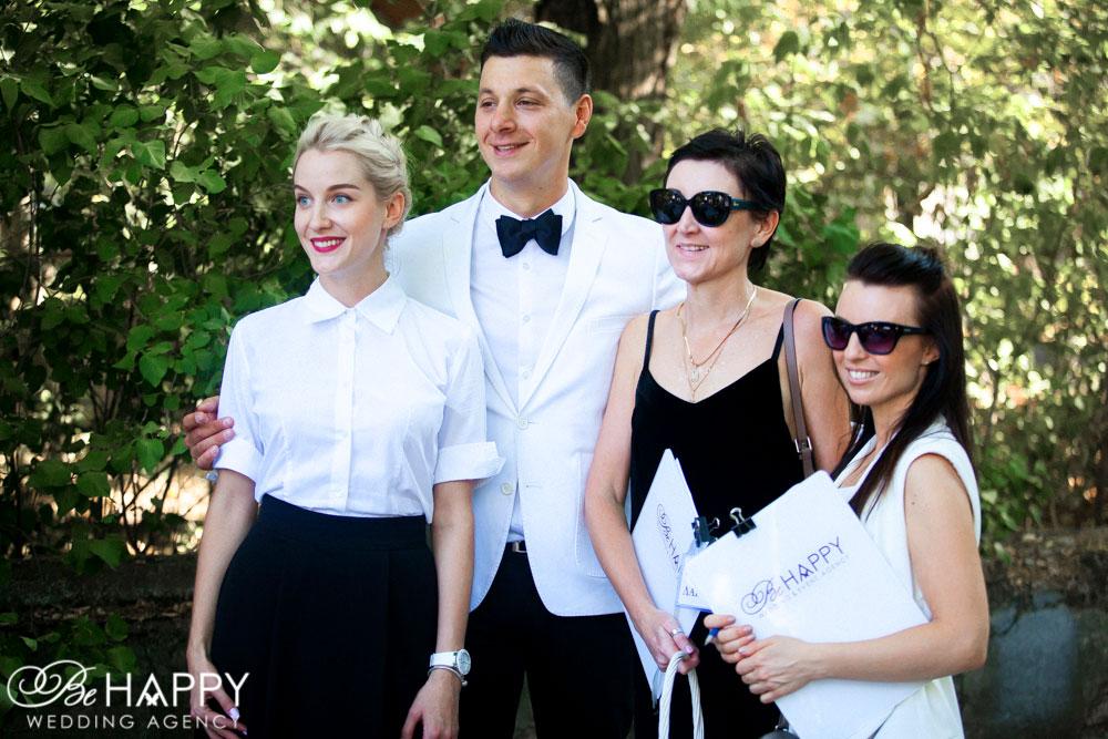 Би хеппи фото организаторов свадьбы Николаев