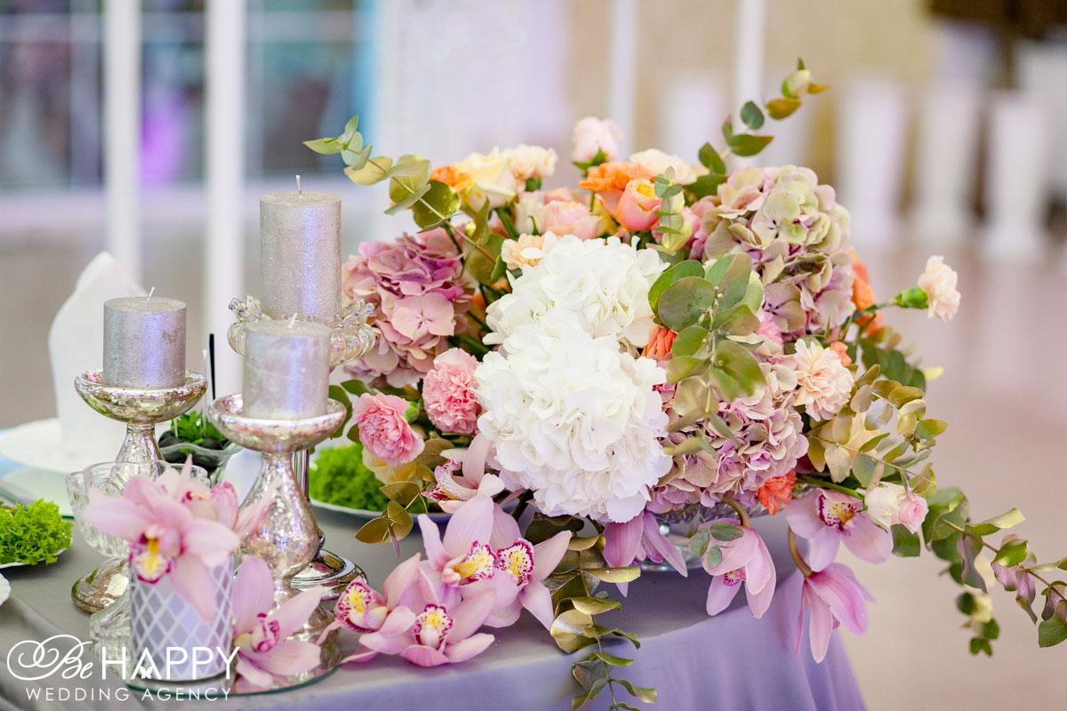Свадебная флористика и декор Be happy Wedding