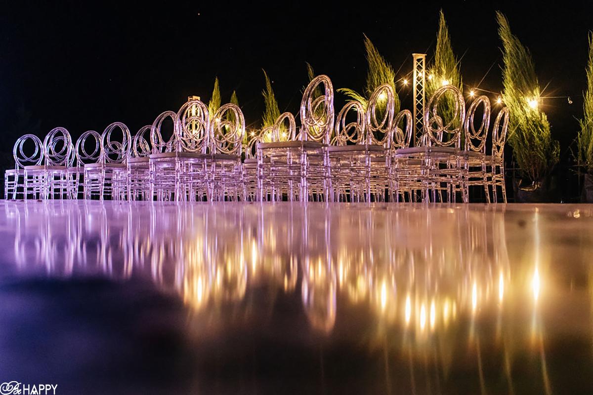 Места для гостей ночное фото выездная свадебная церемония