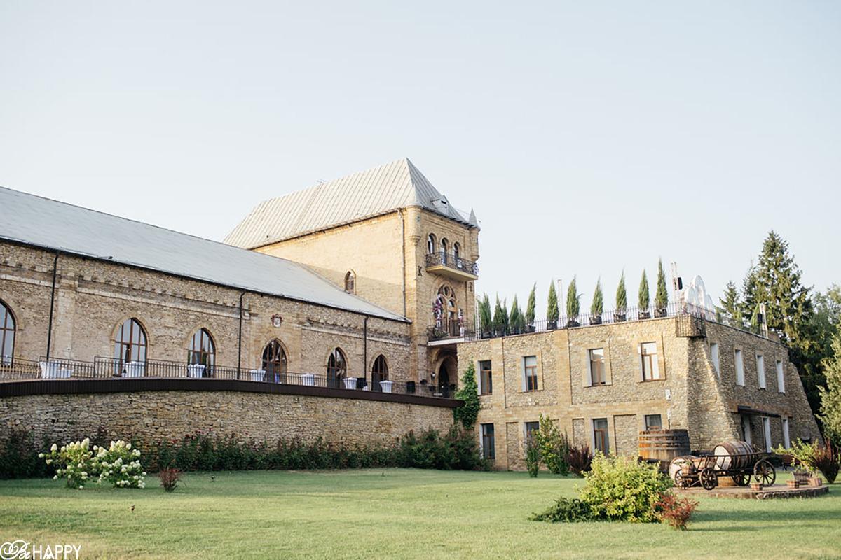 Шато князя Трубецкого место проведения выездной свадебной церемонии