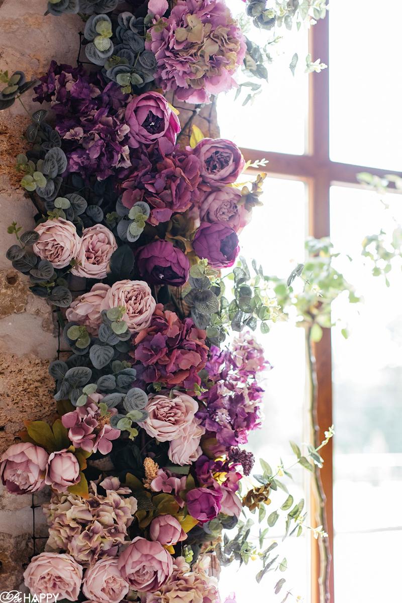 Цветочная композиция из роз, орхидей и гортензий флористика бихеппи