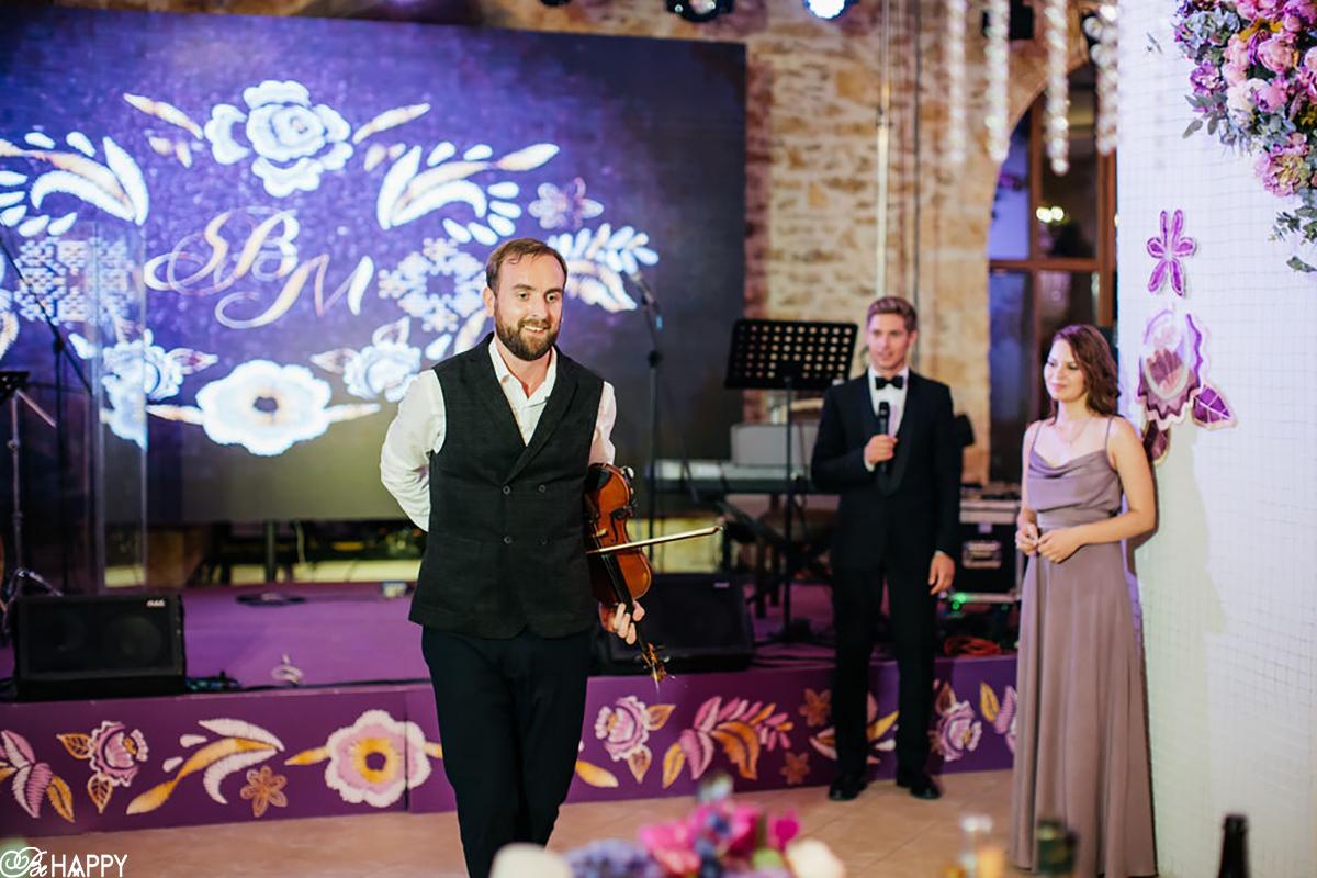 Выступление виртуозного скрипача на свадьбе фото