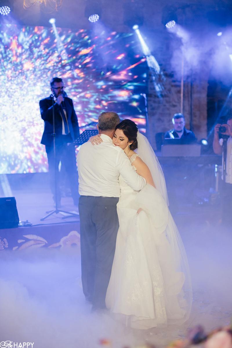 Совместный танец невесты с отцом Be happy wedding agency