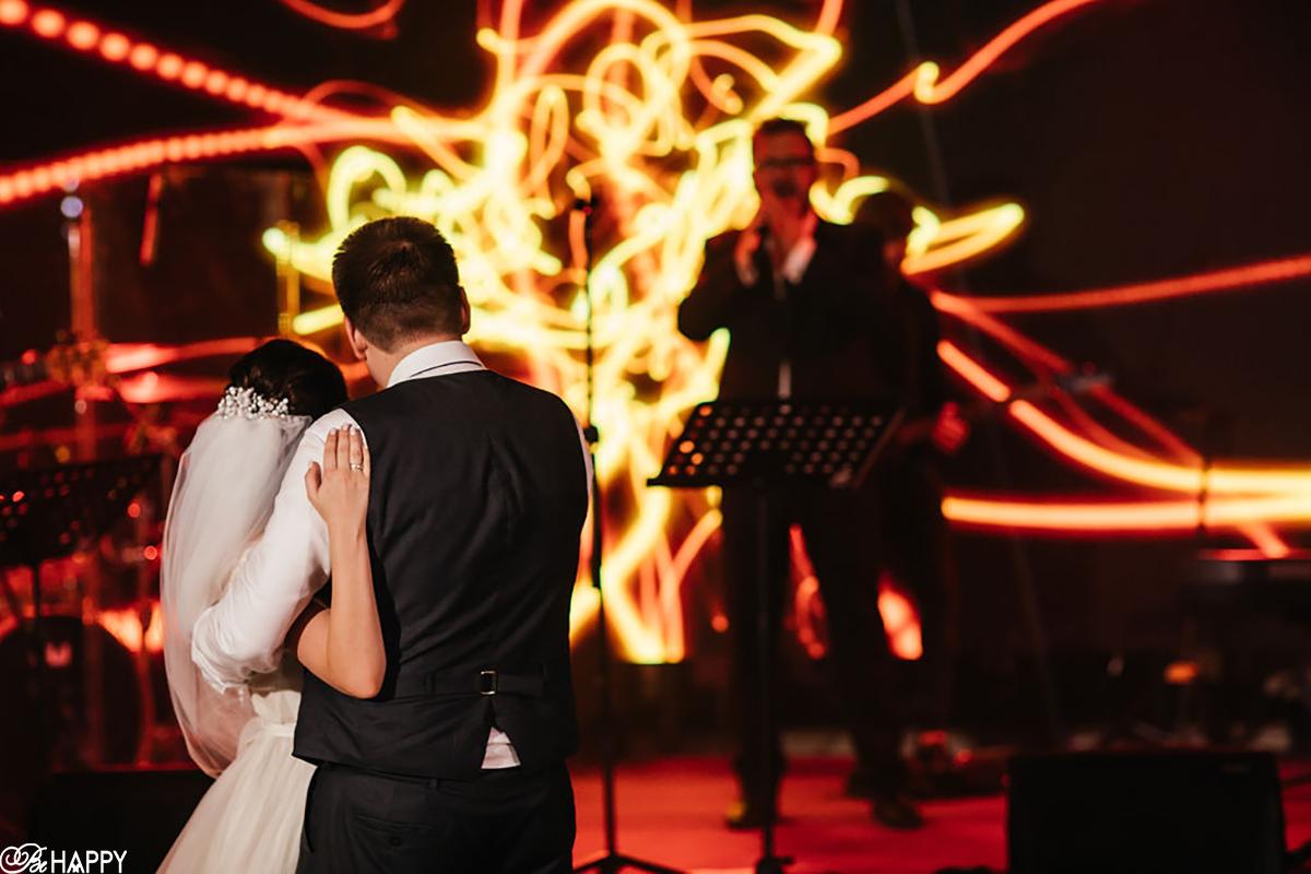 Танец жениха и невесты фото со спины свадебная фотосессия