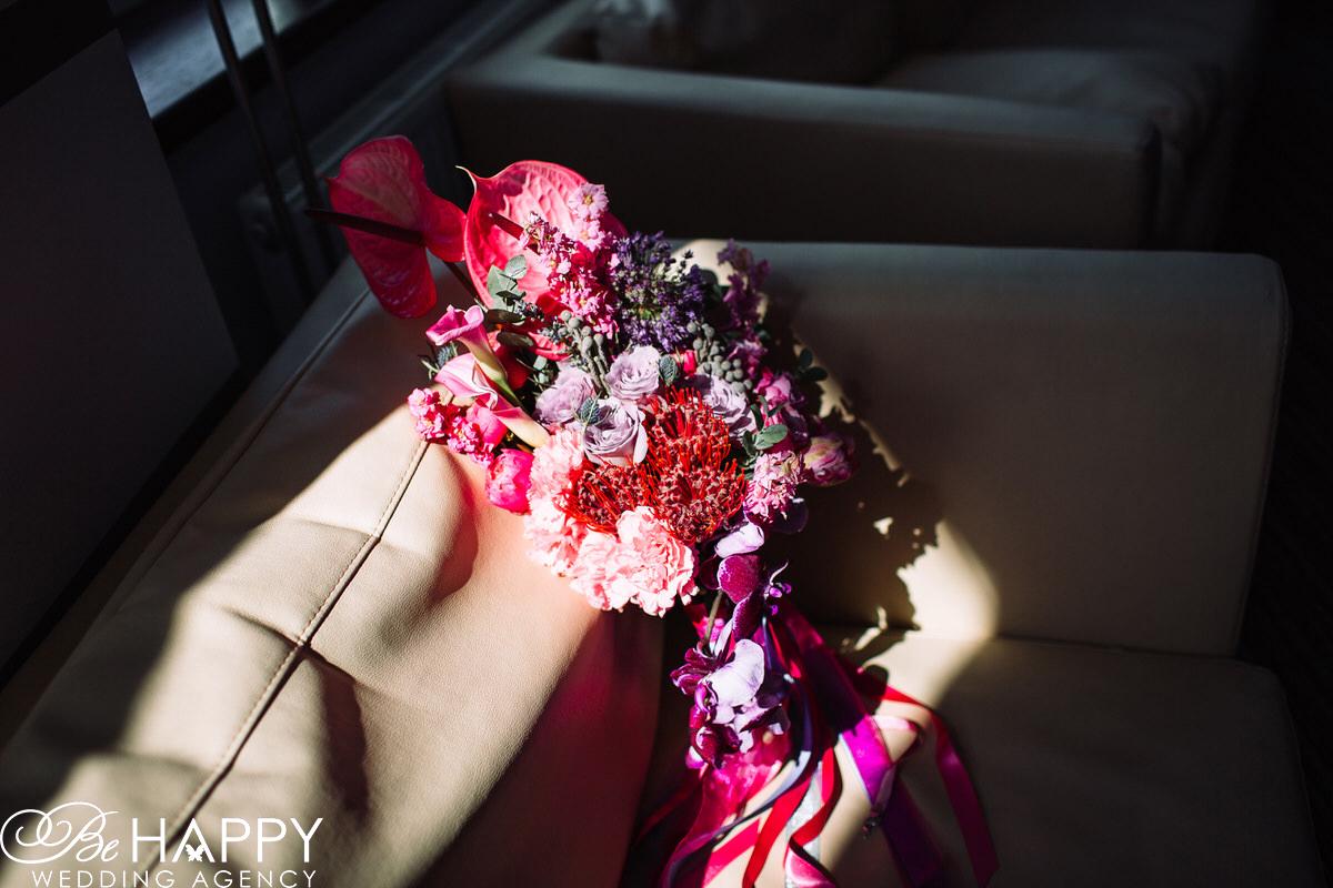 Свадебная флористика Би Хеппи букет невесты