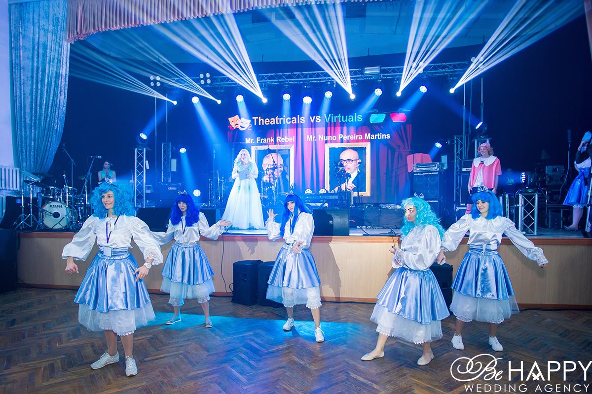 Выступление шоу-балета MDEM Революция 4.0