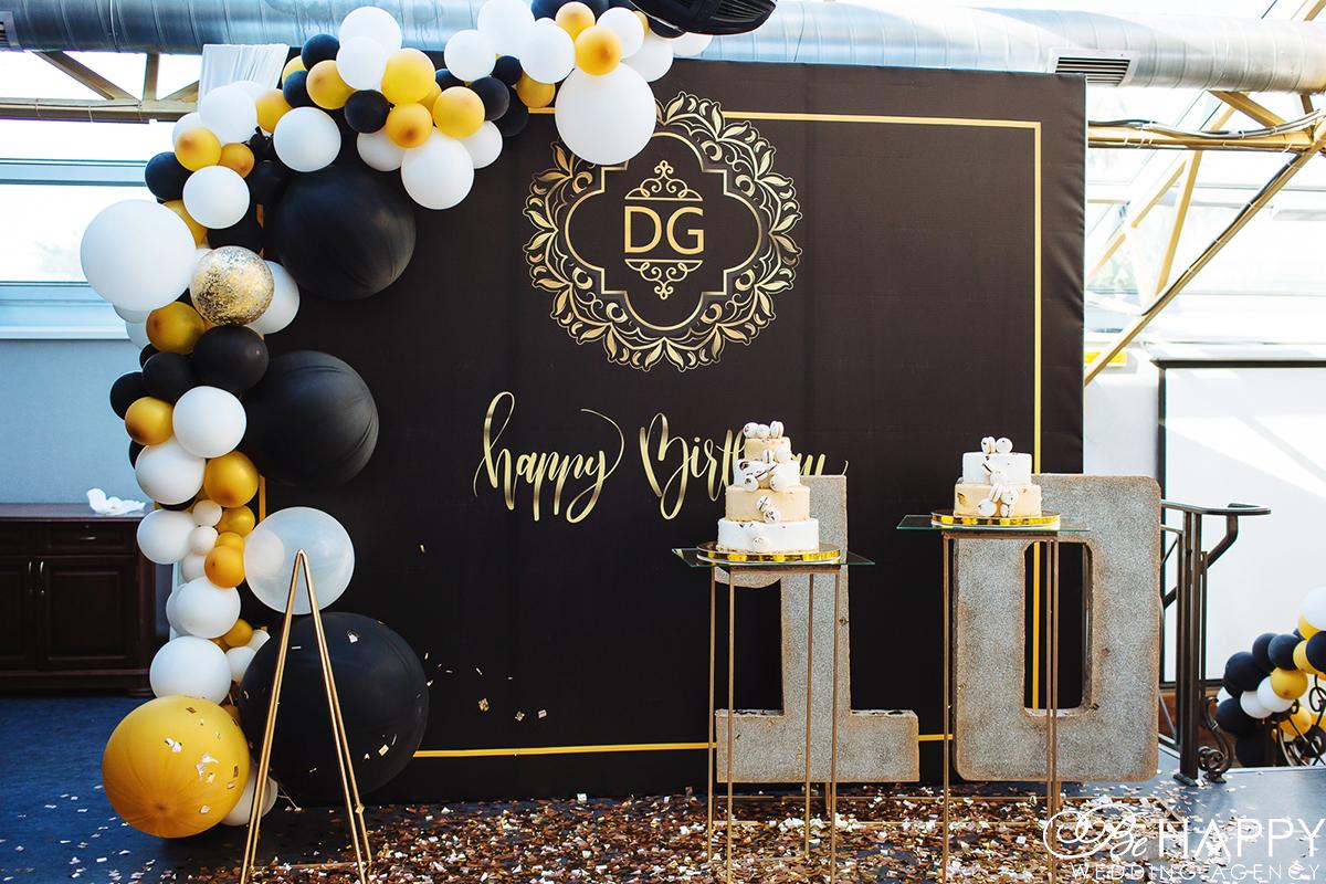 Свадебный торты и декоративное украшение зала детский праздник