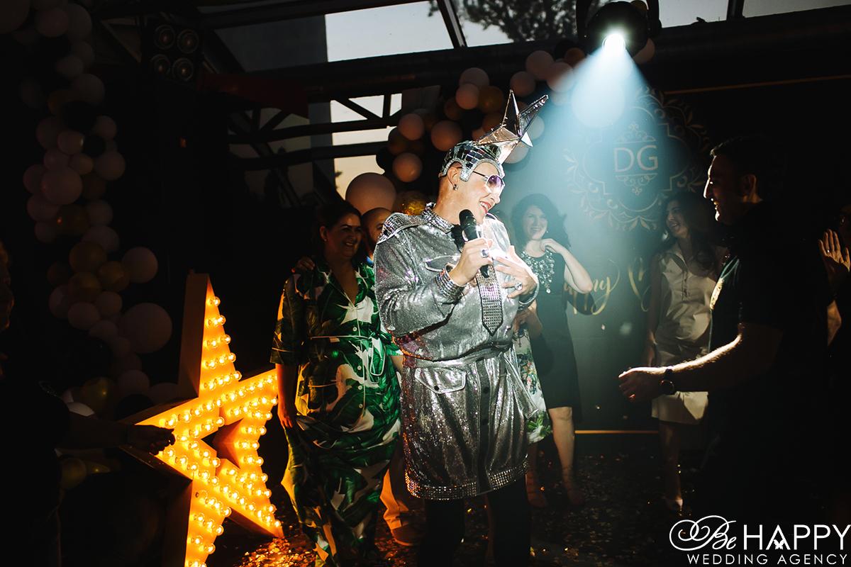 Фото Верки Сердючки с гостем праздника